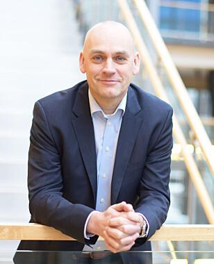 Leder for Telenors mobildivisjon, Bjørn Ivar Moen. Foto: Telenor