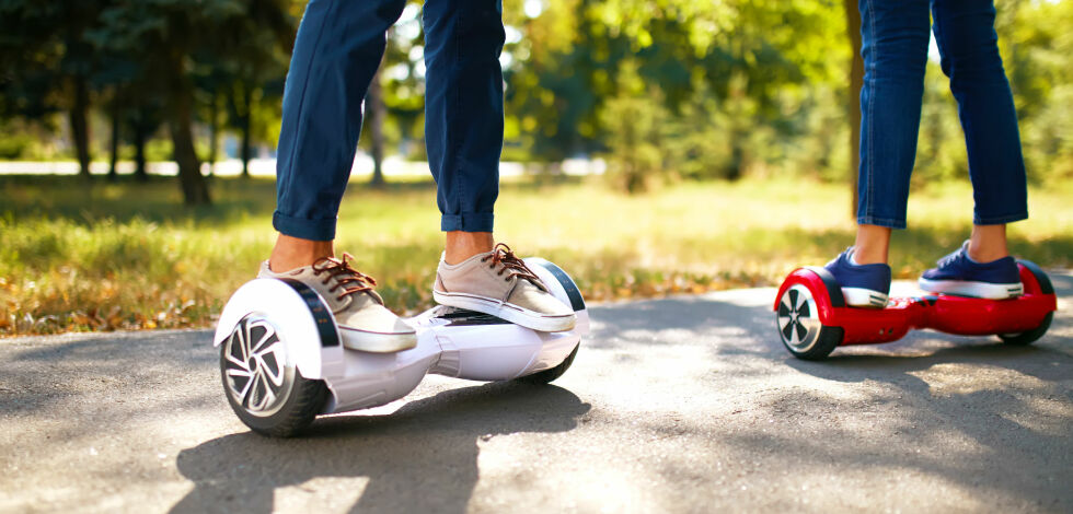 image: Her er reglene for kjøring med hoverboard, Segway og liknende
