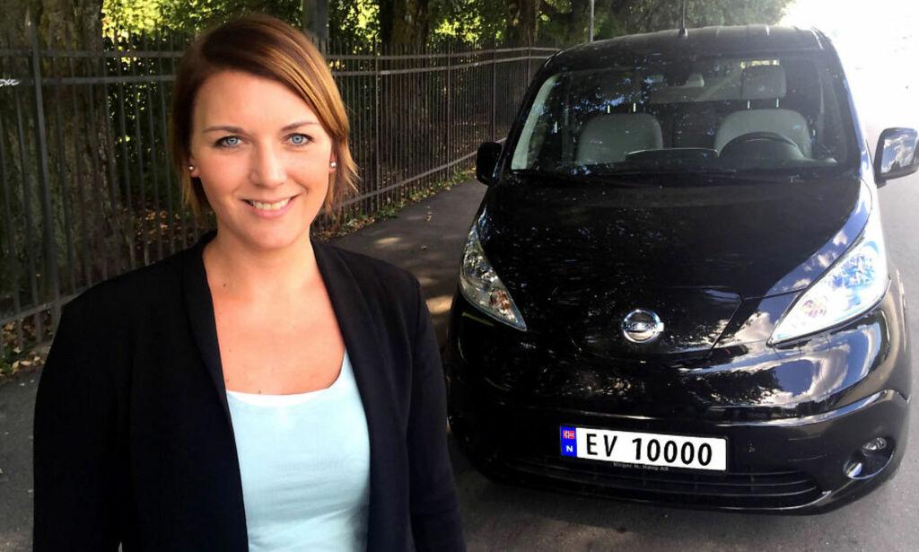 image: Nå kommer de første EV-skiltene på norske veier