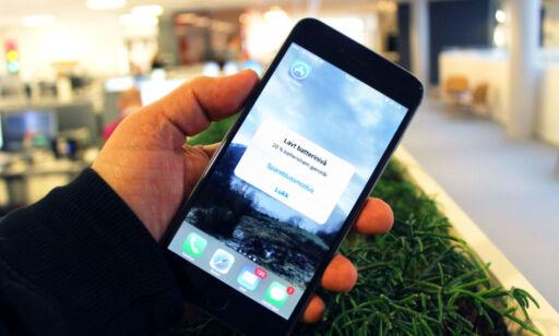 image: Apple gir tilbake 500 kroner til de som skiftet iPhone-batteri for tidlig