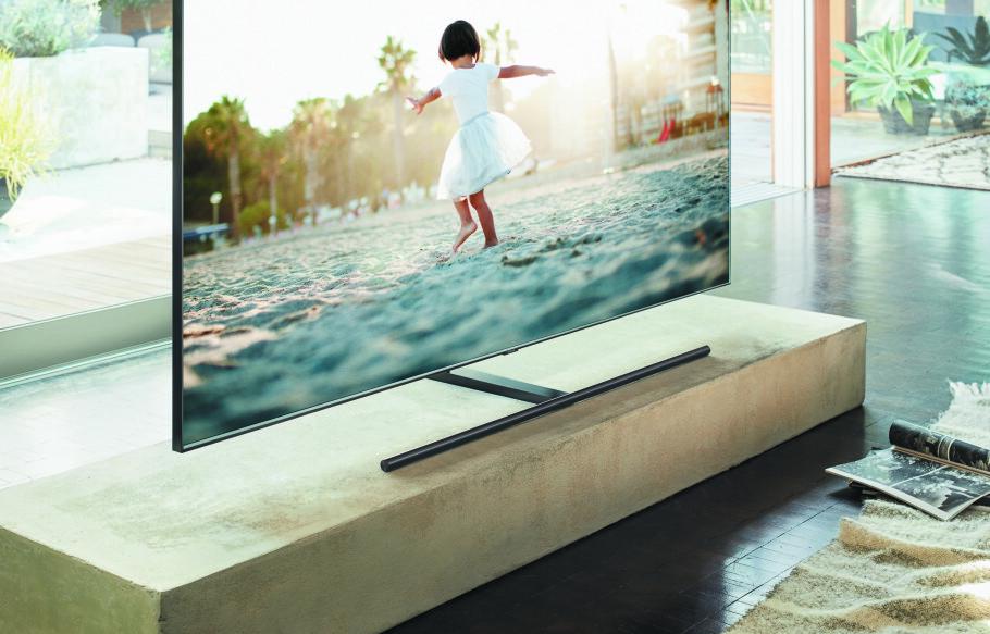 TOPPMODELL: Samsungs nye QLED TV-serie roses opp i skyene av renommerte teknologinettsteder.