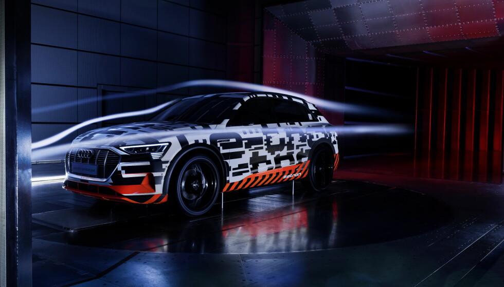 LUFTMOTSTAND: På nye e-tron har Audi fokusert mer på luftmotstand enn på vekt, for å øke rekkevidden. Foto: Audi