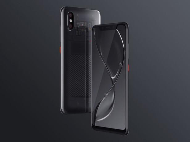 IKKE IPHONE X-PRISER: Mi 8 Explorer Edition koster fra 3.699 yuan, rundt 4.700 kroner. Foto: Xiaomi