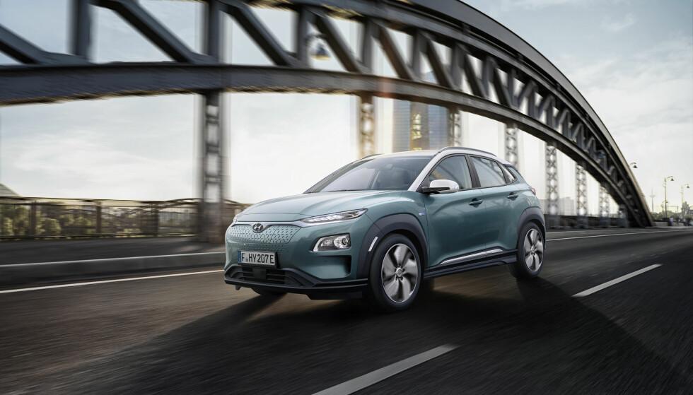 HYUNDAI KONA ELECTRIC: Elbil-versjonen av Hyundai Kona har endelig fått en pris. Foto: Hyundai