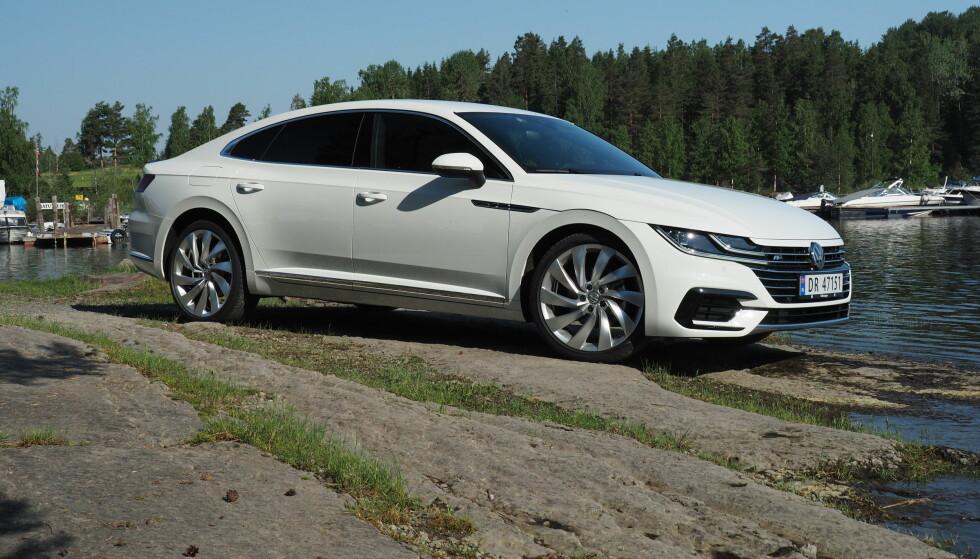SKILLER SEG UT: Fronten stikker seg skikkelig ut, men Coupe-interessen i Norge er nesten like laber som for sedan, så du vil ikke se mange av disse. Foto: Rune M. Nesheim