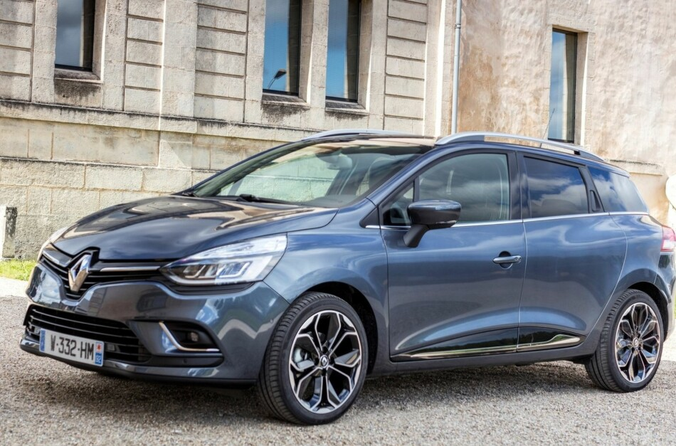 POPULÆR I EUROPA: Renault Clio er relativt ukjent i Norge, men Europas nest mest solgte bil. Foto: Renault