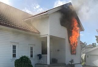 Elsykkelbatteri eksploderte og forårsaket husbrann