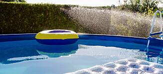 Dårlig rensing av bassenget kan gjøre det til en bakteriebombe
