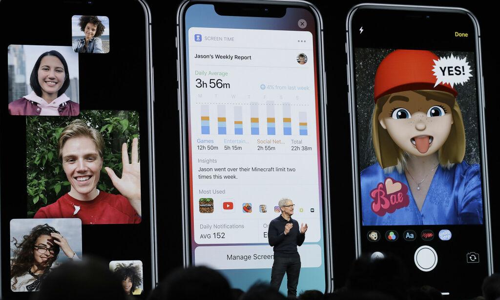 image: Her er alle nyhetene i iOS12