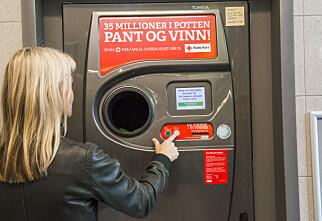 Mer pant gir økt sjanse i lotteriet