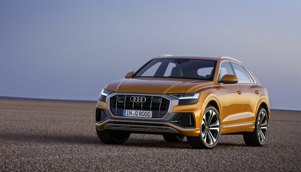 EGEN FRONT: At det er en Audi, er det ingen tvil om, men designerne har likevel gitt fronten et spesifikt uttrykk. Foto: Audi