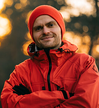 EVENTYRER: Skotøyet er det viktigste du bruker penger på av utstyret, sier friluftsblogger og eventyrer Marius Fuglestad. Foto: Fredrik Helliesen
