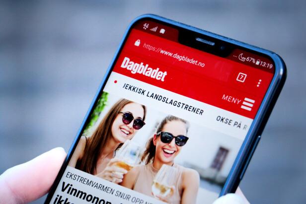 KJENT: Slike skjermer er 2018 i et mobilskall, med en kant man raskt blir vant til. Men Zenfone 5 sin er ikke like gjennomtenkt som andres. Foto: Ole Petter Baugerød Stokke