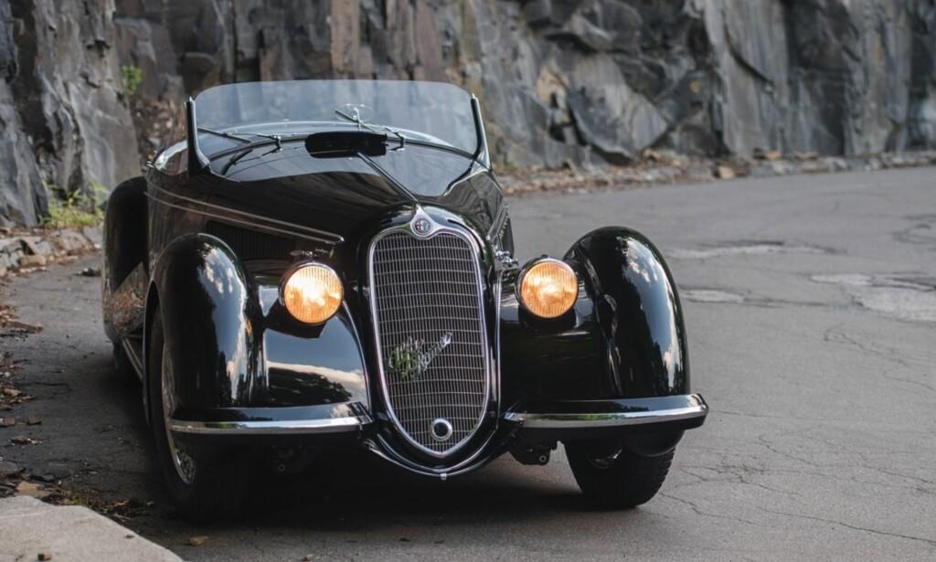 9. PLASS: Alfa Romeo 8C 2900B Lungo Spider er eneste ikke-Ferrari fra Italia på lista.Foto: RM Sotheby´s