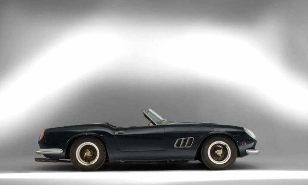 10. PLASS: Ferrari 250 GT er en meget ettertraktet bil blant samlere. Foto: Artcurial Motorcars
