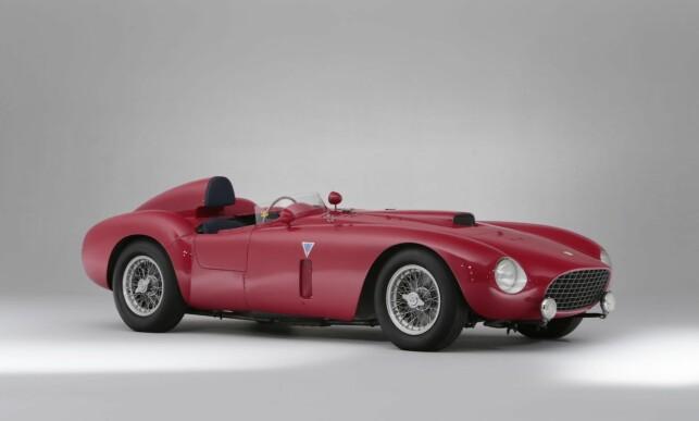 11. PLASS: Ferrari 375 Plus Spider Competizione ble solgt for 18,4 millioner dollar i 2014. Foto: Bonhams