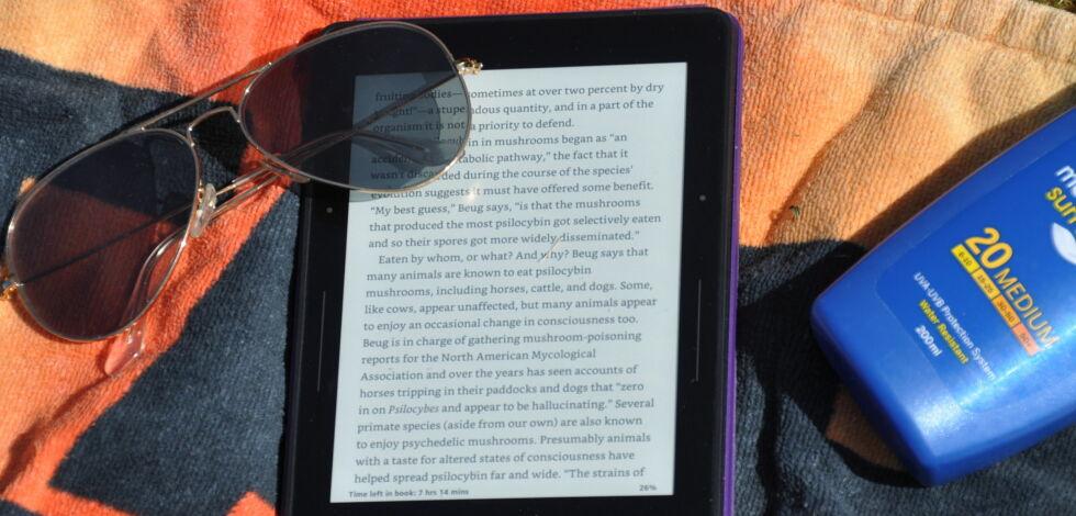 image: Denne skjermen ser du faktisk BEDRE i sola