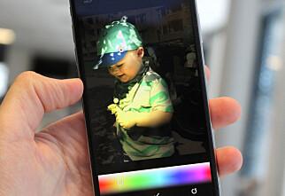 Appen som gir kule lyseffekter på iPhone-portrettbildene