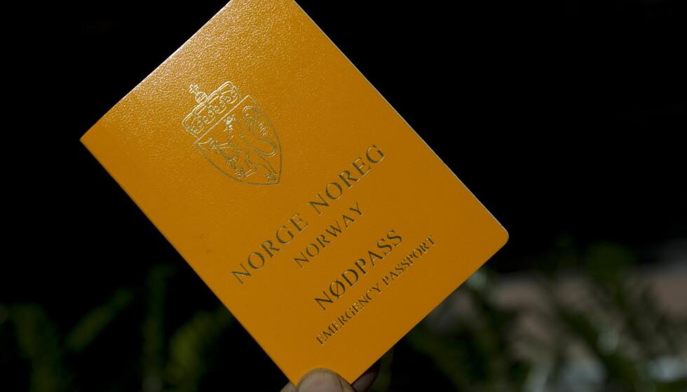 NØDPASS: Ikke alle land godtar at du reiser med nødpass. Foto: NTB Scanpix