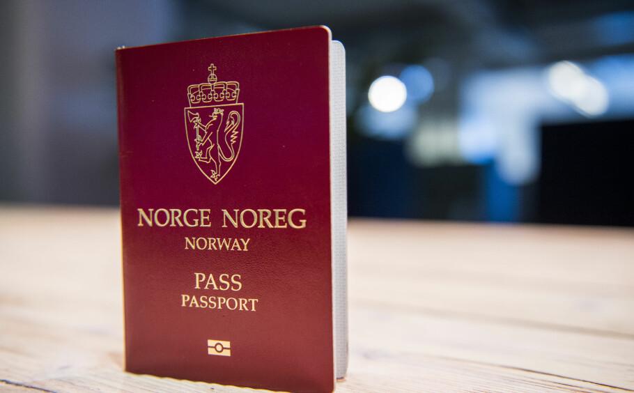 FORSINKELSER: Passet ditt kan bli forsinket, advarer Politidirektoratet. Flere kan måtte skaffe seg nødpass før ferieturen. Foto: NTB scanpix