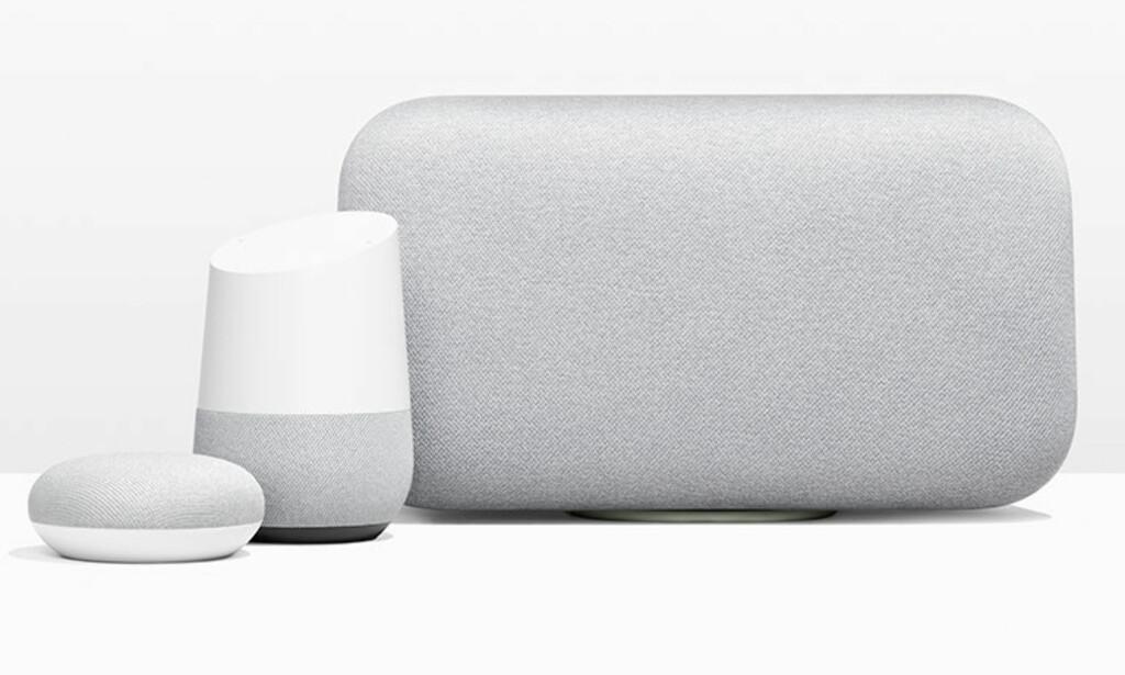 SMARTHØYTTALERE SELGER: Smarthøyttalere er nykommer på salgstallene fra Elektronikkbransjen, og de forventer at de skal selge enda mer i løpet av 2019. Foto: Google