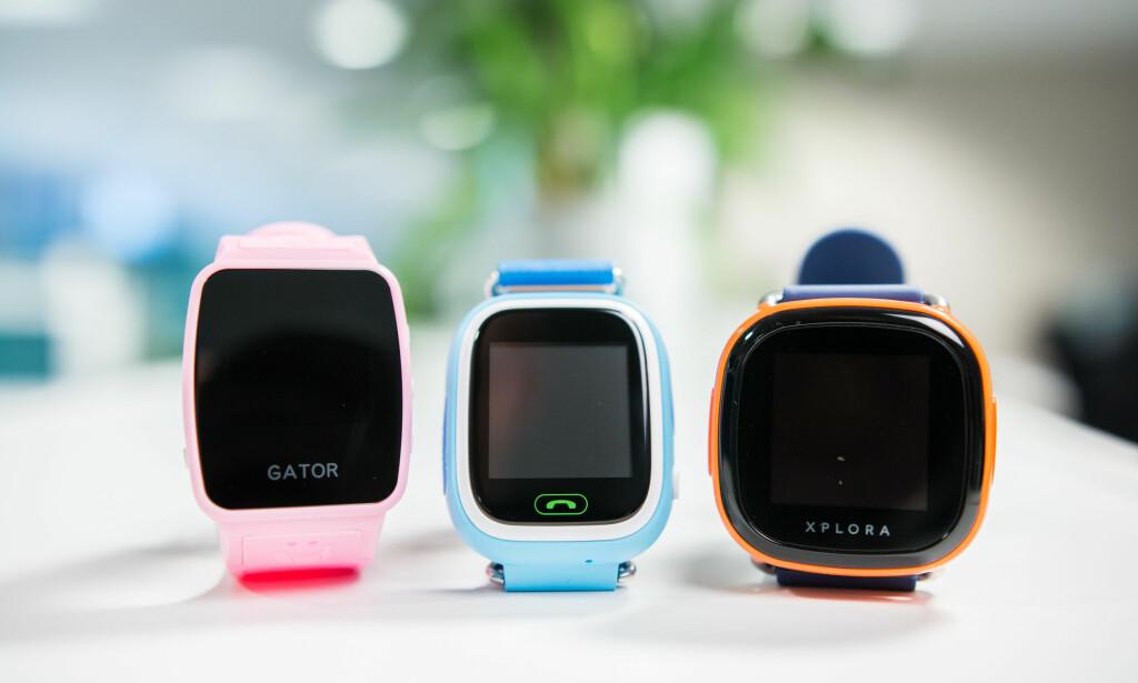 KREVDE ENDRINGER: Forbrukertilsynet krevde at produsentene av GPS-klokker for barn gjorde endringer i hvordan produktene ble markedsført. Foto: Forbrukerrådet