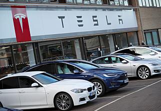 Tesla er mindre populær på finn.no