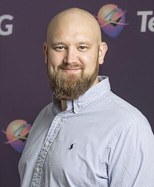 HAR SNAKKET MED KUNDENE: Morten Sæthre i Gator sier de har ringt kunder og spurt hva de mener er de viktigste funksjonene til GPS-klokka deres. Svaret var ringing og sporing når man trenger det. Foto: Gator AS
