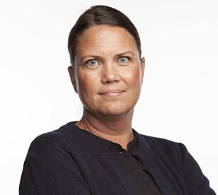 AVVIS TILBUD: Helle Hartz Hagen i A-krimsenteret i Sør-Øst politidistrikt ber publikum si nei til tilbud fra arbeiderne. Foto: Skatteetaten