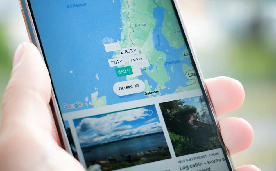 NYE SKATTEREGLER GIR ØKTE SKATTEBETALINGER: Leieinntektene til Airbnb-utleiere i Norge ventes å ende på 2,4 milliarder kroner i år, noe som er en økning på 50 prosent fra i fjor, viser en analyse. Analyseselskapet Capia har beregnet at Airbnb-utleierne skal betale til sammen 360 millioner i skatt i år. Foto: Ole Petter Baugerød Stokke