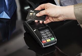Kontaktløs betaling skal hete «tæpping»