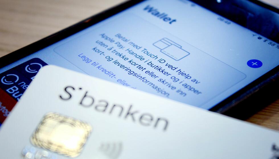 SBANKEN: Nå har også Sbanken fått seg Apple Pay. Foto: Ole Petter Baugerød Stokke