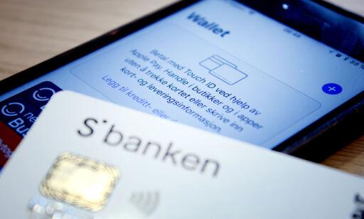 image: Nå har Sbanken også Apple Pay