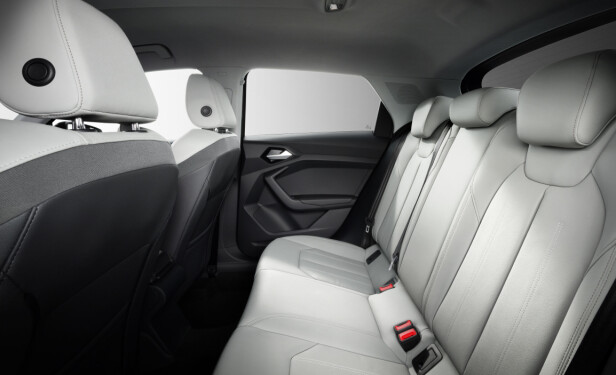 MER PLASS: Det skal være mer behagelig å være baksetepassasjer i den nye A1. Foto: Audi