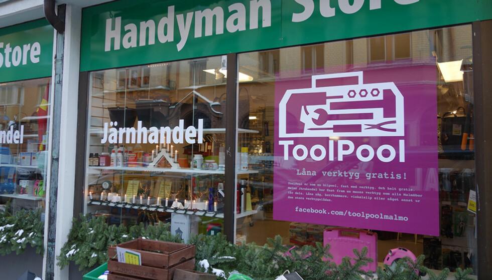MALMÖ-IDÉ: Matti Jokela lanserte ideen om å la jernvarehandler eog andre låne ut gratis verktøy til kundene sine. Foto: ToolPool