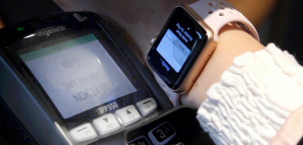 image: Betale med mobilen, klokka, eller nettbrettet?
