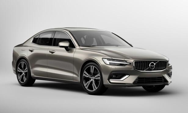 KJØLIG ELEGANSE: Volvo har funnet sin form og S60 fremstår harmonisk etter vår mening. Kan risikoen være at de kjører seg fast i et monotont designspor? Foto: Volvo