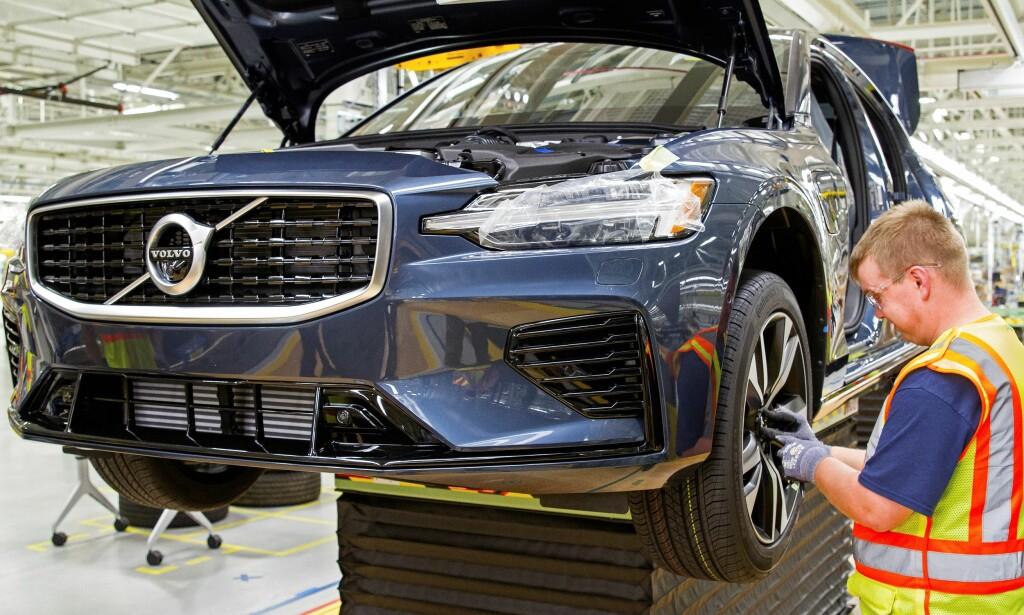 NOK Å GJØRE: Geely-konsernet ligger ikke på latsiden når det kommer til å produsere nye biler. Snart kan vi få se både Volvo XC50 og Volvo XC20. Foto: Volvo