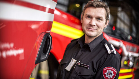 GOD SANKTHANS: Branninsperktør Sigurd Folgerød Dalen ber folk være ansvarlige. Foto: OBRE