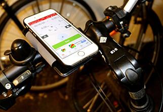 Tre gode sykkel-apper