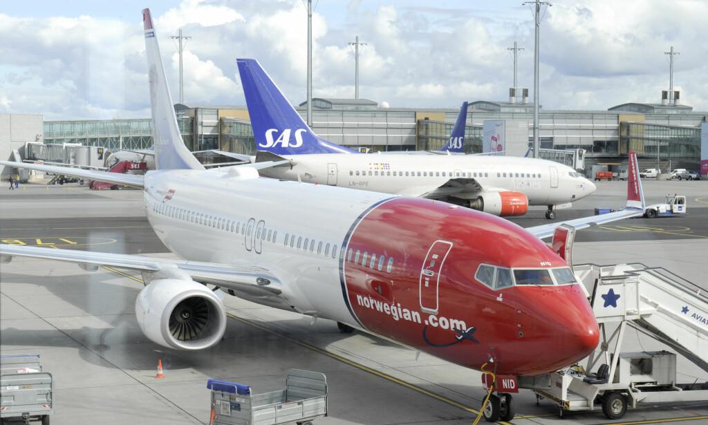 MULIGHETER FOR STREIK: Stavanger lufthavn er en av de norske flyplassene som kan bli rammet av streik. Foto: NTB Scanpix