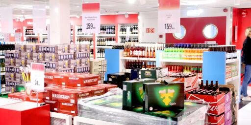image: Nei, det lønner seg ikke alltid å handle vin, øl og sprit på danskebåten