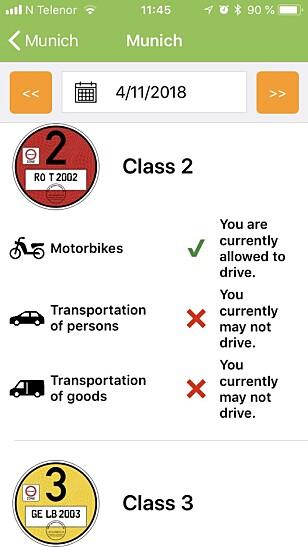 APP: En app kan gi deg svarene du ønsker. Foto: Skjermdump Green-Zones.