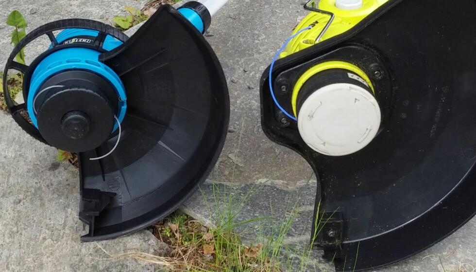 KVALITETSFORSKJELL: Batteritid, støynivå og evnen til å klippe er alle viktige elementer når man skal velge kantklipper. Foto: Brynjulf Blix