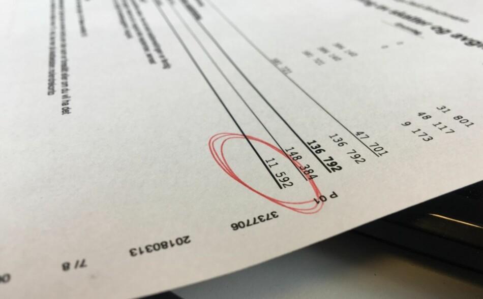 NÅ KOMMER SKATTEPENGENE: Har du penger til gode på skatten, vil de aller fleste få skattepengene inn på konto i dag. Foto: Berit B. Njarga