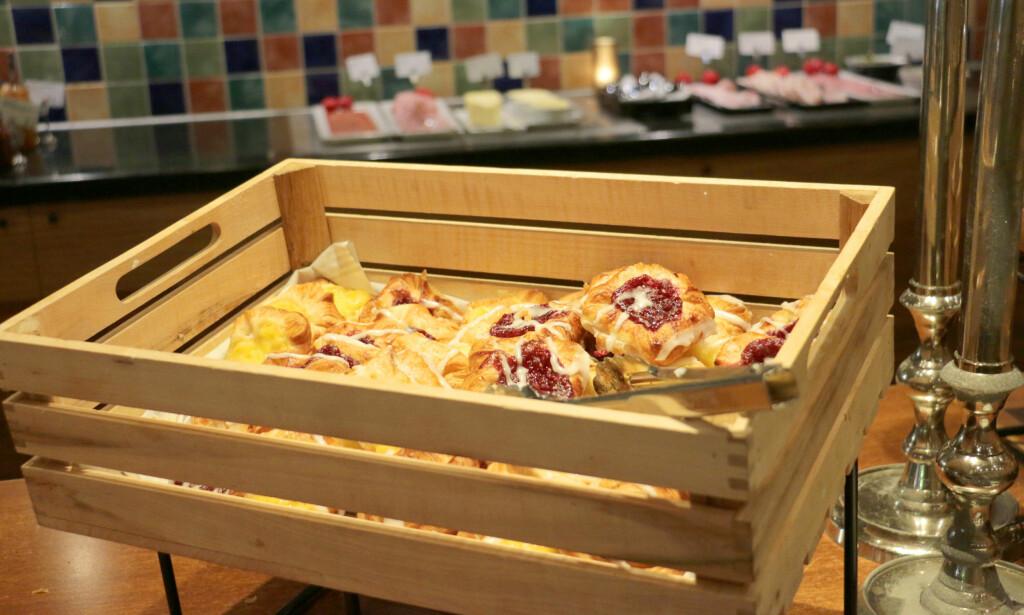 SELVSAGT WIENERBRØD: Du kan ikke spise dansk frokost uten wienerbrød, og det er det her. Foto: Kristin Sørdal