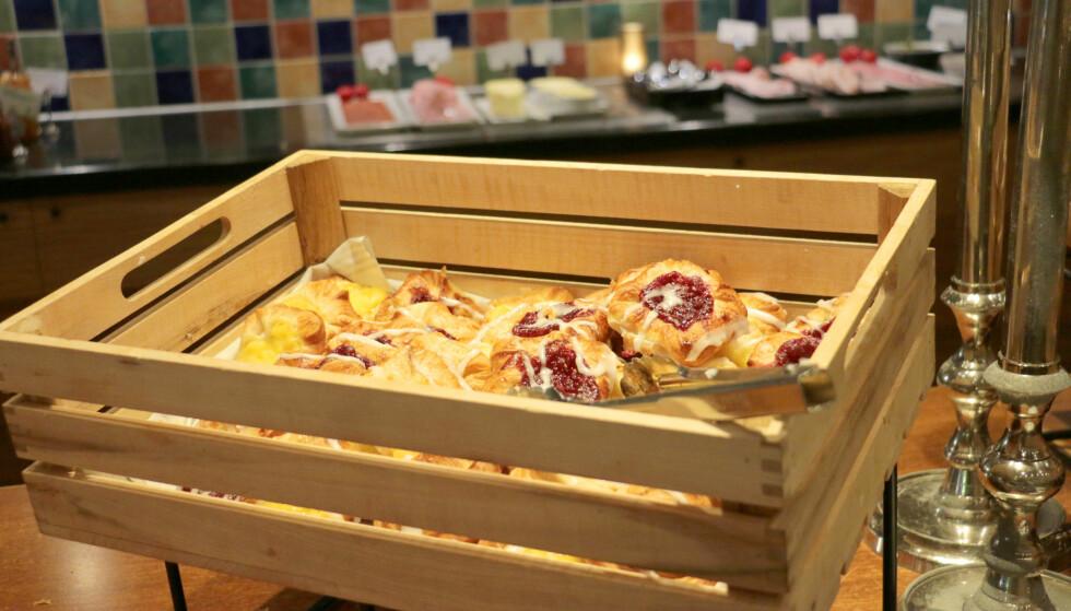 <strong>SELVSAGT WIENERBRØD:</strong> Du kan ikke spise dansk frokost uten wienerbrød, og det er det her. Foto: Kristin Sørdal