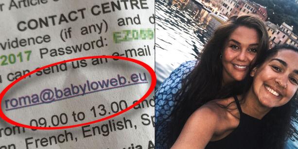 image: Malin kjørte leiebil i Italia: Åtte måneder senere kom dette brevet