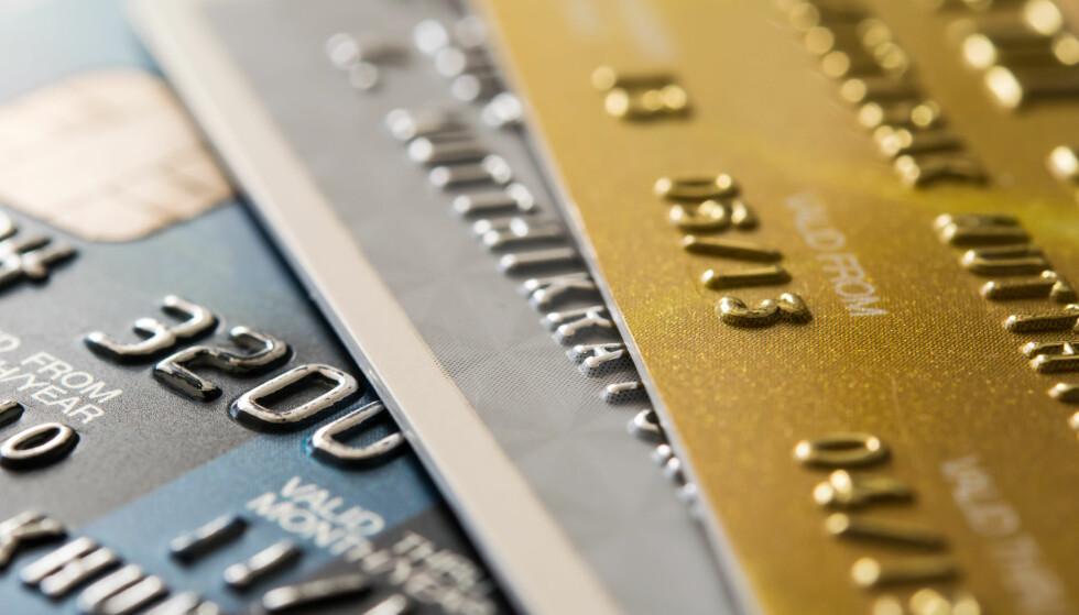 LÅNTE PENGER: Kriminelle som sitter på kortnummer, utløpsdato og sikerhetskode har mange muligheter med kredittkort. Foto: Ti_ser/Shutterstock/NTB scanpix