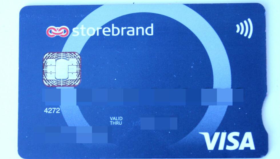 RETT FRA KONTO: Vanlige bankkort er ikke så interessante som kredittkort for kriminelle. Foto: Tore Neset